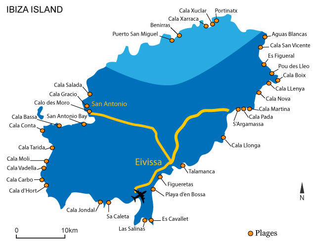 Carte Espagne Avec Plages.Quelques Bonnes Adresses Pour Se Faire Plaisir Espagne